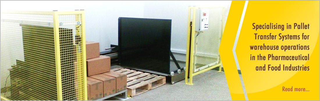 Specialising in Pallet Transfer Systems